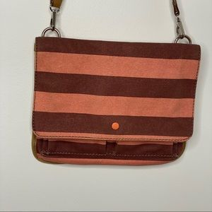 Fossil MultiColor Flap Crossbody Messenger Bag